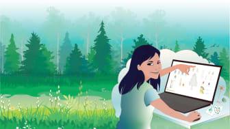 Chanaka Mannapperuma har tagit fram användarvänliga bioinformatikverktyg för växtbiologer. Bild: Chanaka Mannapperuma