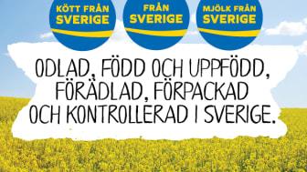 Debattartikel Icanyheter den 17 augusti 2018. Svenskmärkning står bakom den frivilliga ursprungsmärkningen Från Sverige, Kött från Sverige och Mjölk från Sverige.
