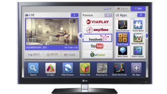 Webbläsare, Plex-stöd och lokala premium-tjänster när LG Smart TV lanseras i Sverige