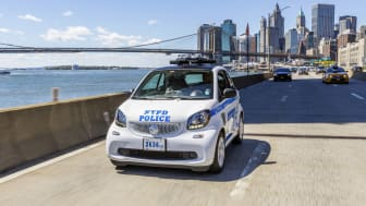 Smart fortwo (New York police)