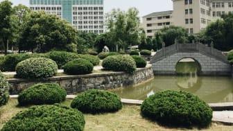 Campus der Hefei-University: 1980 gegründet, 14.0000 Studierende, 900 Mitarbeitende.