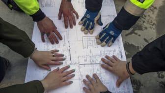 Bild från Soldalaskolan som var ett av projekten som utfördes i samverkan med Telge Fastigheter under föregående ramavtalsperiod.