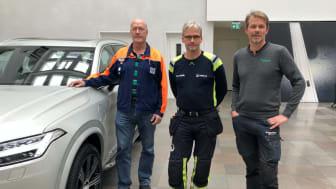 Ove Jösok, Volvo Cars, Stefan Nilsson, Veolia och Mats Wasteby, Schneider Electric