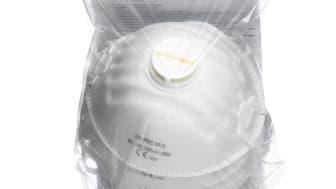 Worksafe filtrerande halvmask 21V FFP2 NR D