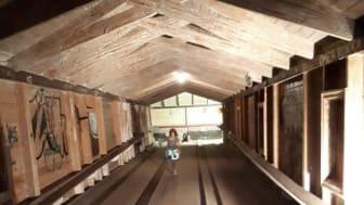 Kägelbanan på Kyrkberget i Lindesberg genomgår nu en renovering.