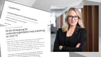 """""""Mycket positivt att riksdagen börjar inse vikten av en fungerande gruvnäring"""" säger Maria Sunér Fleming, vd Svemin, om dagens besked från näringsutskottet."""