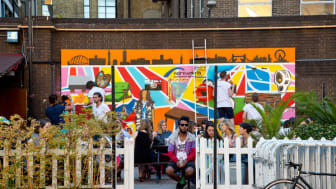 NORTHUMBRIA INVADES LONDON'S ART WORLD WITH POP-UP MURAL