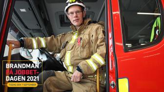 I dag uppmärksammas deltidsanställda brandmän under Brandman på jobbet-dagen, ett initiativ för att synliggöra både brandmän och deras huvudarbetsgivare.