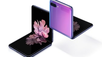 Nu lanseras Galaxy Z Flip – Samsungs första mobil med vikbar glasskärm