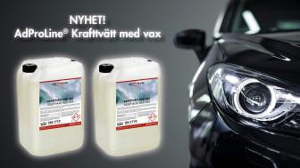Nyhet - AdProLine® Krafttvätt med vax!