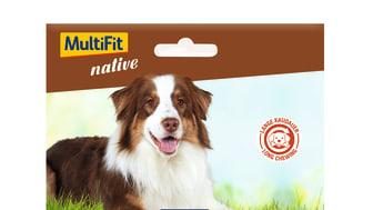 MultiFit native Snacks: Rinderkopfhaut