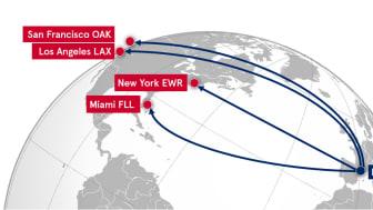 Norwegian anuncia base de largo radio en Barcelona con vuelos directos a cuatro destinos en Estados Unidos