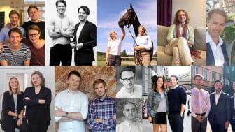 Tung branschkunskap bland Stings 11 nya bolag