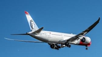 Norwegian es reconocida como la 'Aerolínea de bajo coste líder en Europa' por sexto año consecutivo