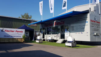 Fischer Panda UK is at The South Coast Boat Show at Ocean Village Marina this weekend