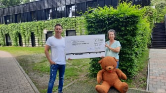 Carsten Frank von der 3R Projektentwicklung Leipzig GmbH  und Kerstin Stadler von Bärenherz