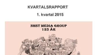NHST Media Group - Kvartalsrapport 1. kvartal 2015