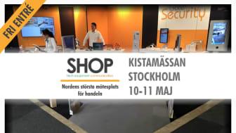 Besök Gate Security på SHOP 2017, Kistamässan, 10-11 maj! Vi finns i monter J:01