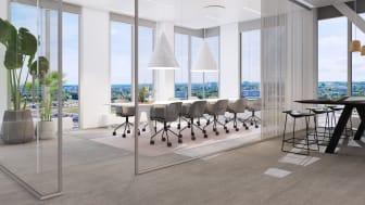 Enspecta AB flyttar huvudkontoret till The Edge i Hyllie