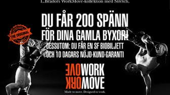 L.Brador firar 1 år med WorkMove-kollektion