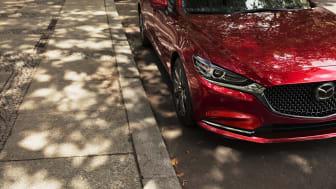 Mazda avslöjar nya Mazda6 på L.A. Auto Show