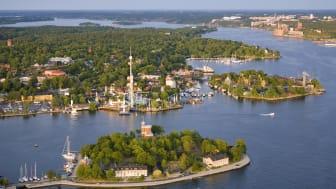 Rekordmånga utländska besökare kom till Sverige 2012