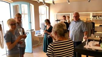 Mandag den 2. juli blev dørene slået op til en ny butik i Ærøskøbing