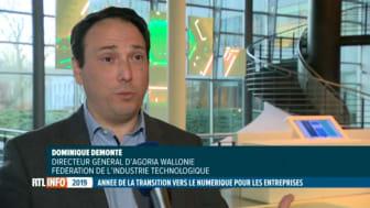 Dominique Demonté: 'La digitalisation est une révolution industrielle'