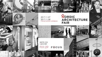 Focus Neon på Nordic Architecture Fair 2017