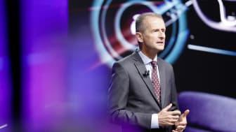 Herbert Diess, VD för Volkswagen-koncernen.