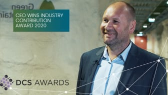 CEO of Green Mountain, Tor Kristian Gyland, is proud to be awarded the prize.