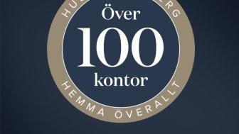 HusmanHagberg har passerat 100 kontor och firar med varumärkeskampanj.