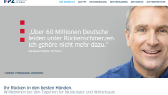 Die www.fpz.de für Rückenschmerzpatienten