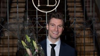 Cellinks grundare Erik Gatenholm utsedd till Årets Unga Entreprenör Väst 2016