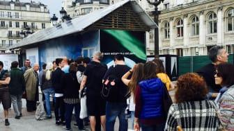 NIBE Energy Systems medverkar i projektet La Place de l'Europe, en europeisk kulturutställning anordnad av Paris stad.