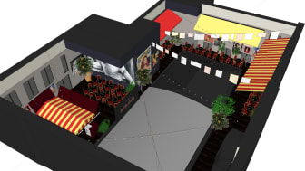 Scandic Grand Central to open new outdoor patio named Little Italy – a lush Italian piazza in downtown Stockholm