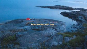 Screenshot från kampanjfilm From Sweden with Love.