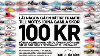 Stadium vill ha dina gamla skor