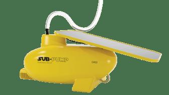SUB-pump er en solcelledrevet lensepumpe til småbåter som kan overvåkes fra en app på mobilen.