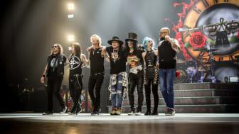 Återförenade Guns N' Roses spelar på Sweden Rock 2020. Foto: Tim McWilliams
