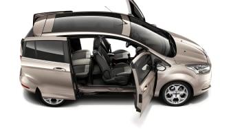 Ford får Global Mobile Awards-utmärkelse för nya B-MAX