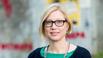 Maria Alsander, verksamhetsledare på Volontärbyrån