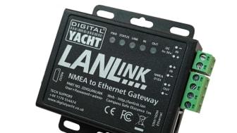 Digital Yacht America Launches LANLink NMEA to Ethernet Gateway