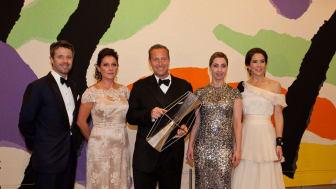 Kronprinsparrets Priser uddelt i operahuset i Sydney