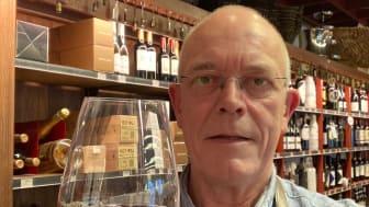 Lars Byager, butikschef för VINOteket.dk