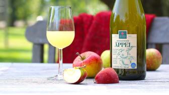 Kiviks Musteri firar Från Sverige-märkning med ny produkt, Mousserande Äppel