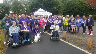 Step Out in Preston to support stroke survivors