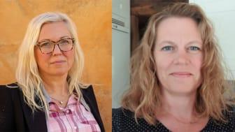 Veronica Magnusson Hallberg, Ordf. Svenska Downföreningen och Anna Brandström, v. Ordf och samhällspolitisk talesperson