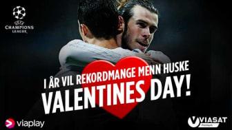 UEFA Champions League er tilbake 14. februar