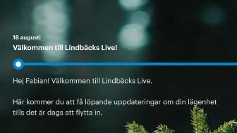 Lindbäcks Live, första inlägget